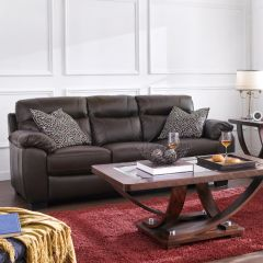 10266-3S  Leather Sofa