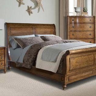 2295-33 Cape Cod King Sleigh Bed ~3조 한정판매~