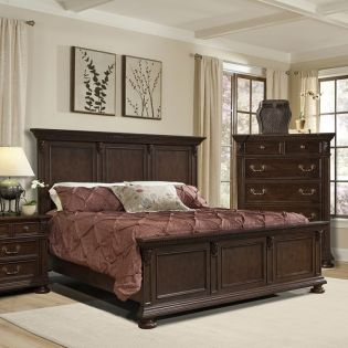 735 Giverny Gardens  King Panel Bed