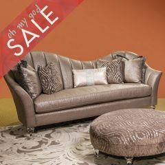 Maritza  Channel Back Sofa & Chair