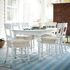 Dogwood Blossom 597B653  Dining Set (1 Table + 6 Chairs)