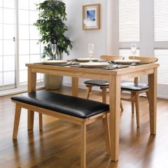 Robin-4  Dining Set(1 Table + 2 Chairs + 1 Bench)