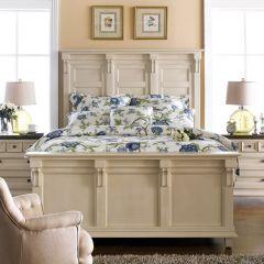 B3557W  Panel Bed (침대+협탁+화장대)