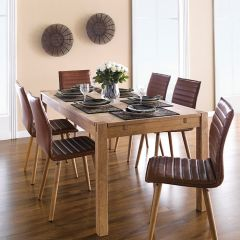 Cope-Karla  Dining Set (1 Table + 6 Chairs)