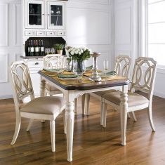 D7611-4  Dining Set (1 Table + 4 Chairs)