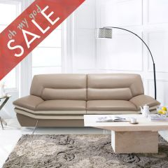 Carlin  Top Grain Leather Sofa
