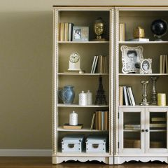 H747-Open  Bookcase