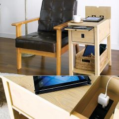 13468  Chair Side Table