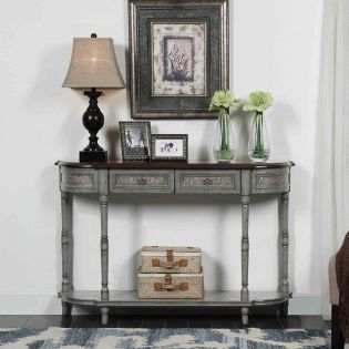 70778  2-Drawer Console Table