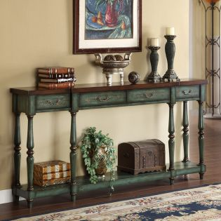 32095  4-Drawer Console
