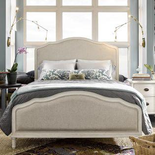 Amity WF987210B  Panel Bed (침대+협탁+화장대)