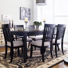 D1301-6  Dining Set  (1 Table + 2 Arm + 4 Side)