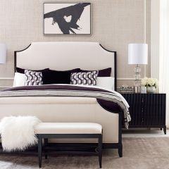 Symphony 5640-4205K  Upholstered Bed (침대+협탁+화장대)