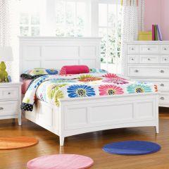 Y1875-64  Full Panel Bed (침대)(매트 규격: 134cmx 193cm)