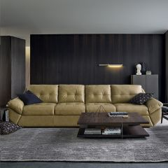 8942  Leather Sofa (2+2)