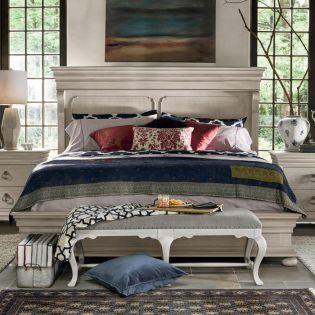 Elan 637250B  Panel Bed (침대+협탁+화장대)