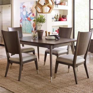 Soho 6020-221  Dining Set (1 Table + 4 Chairs)