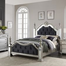 Bling-Bling  Panel Bed(침대+협탁+화장대)