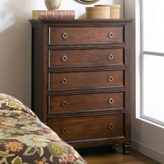 Tamarack-Brown  5-Drawer Chest