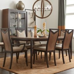 6500-221 Urban Rhythm  Dining Set (1 Table + 4 Side + 2 Arm)