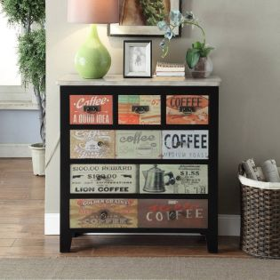 Coffee Sign  Chest