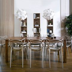 Ocean-W8P  Dining Set  (1 Table + 8 Chairs)