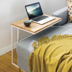 Lotus-600-White  Sofa Desk