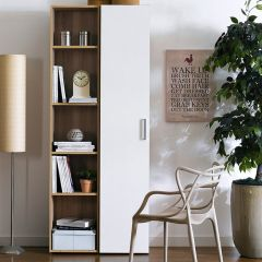 WB-5020-2  Wall Bookcase  (2 Pcs)