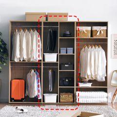 WD-400-B  2-Hanger Closet