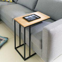 Lotus-300-Black  Sofa Desk