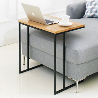 Lotus-600-Black  Sofa Desk