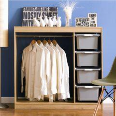 MC-04-Grey  Closet