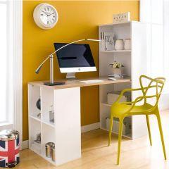 HD-230  Desk w/ Bookcase