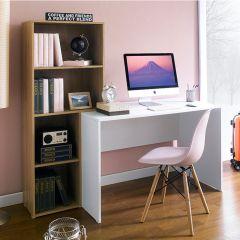 HD-1880  Desk w/ Bookcase