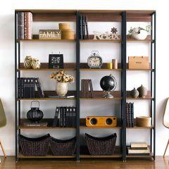 HB-800/600/400-Walnut  3-Unit Bookcase   (3 Pcs 포함)