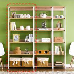 HB-800-Oak  Bookcase
