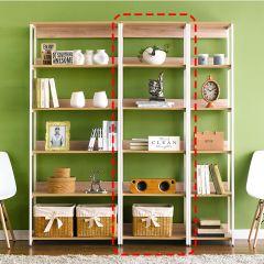 HB-600-Oak  Bookcase
