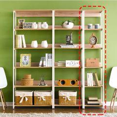 HB-400-Oak  Bookcase