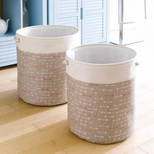 Nested Set-D2-ABL2016D2  Baskets (2 Pcs)