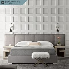 Connery Panel Bed with Wings (option) 645250BW