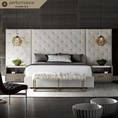 Brando  Panel Bed  Wings option