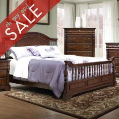 178 Washington Manor  Panel Queen Bed