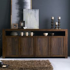 Ocean-Walnut  Large Sideboard