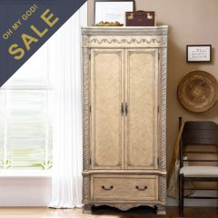 MFC7009  Armoire Ivory