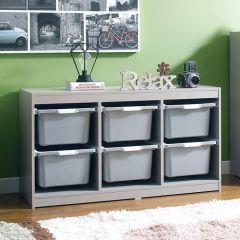 Kreo-GRY-GRY-6  Storage Box