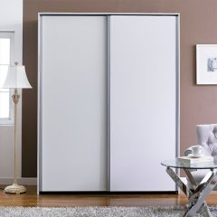 SC-102-White  Sliding Closet