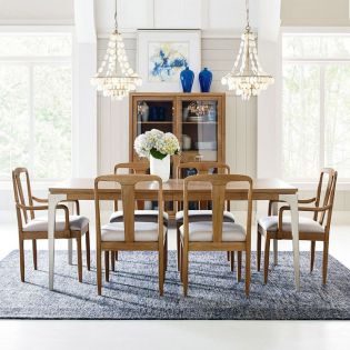 Hygge 7600   Dining Set  (1 Table + 2 Arm + 4 Side)