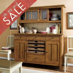 64242 Modern Country  Buffet (Straw)