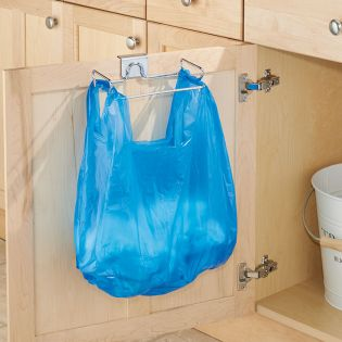34110ES  Classico Over Cabinet Bag Holder
