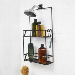 023461-040  Cubiko Shower Caddy-Black